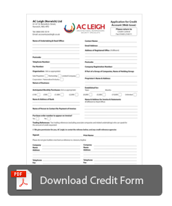 Acount Form Download