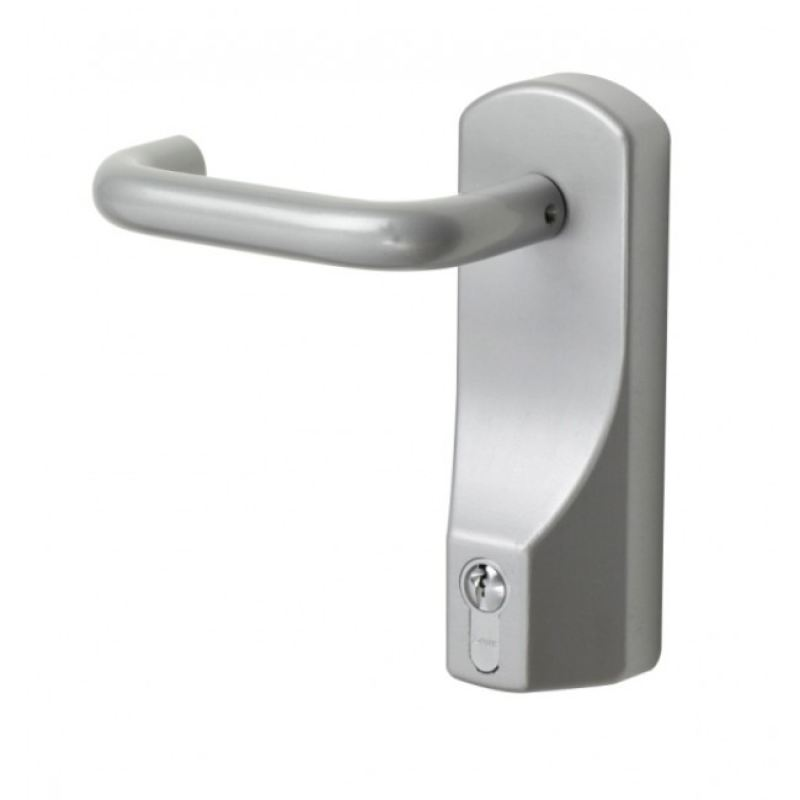 Exidor 322ea Silver Lever Outside Access Device Ac Leigh