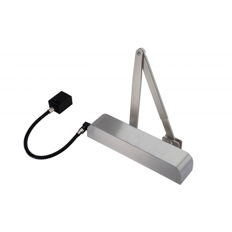 sc 1 st  AC Leigh & Exidor 9870 Size 4 Hold Open Silver Electro Magnet Door Closer
