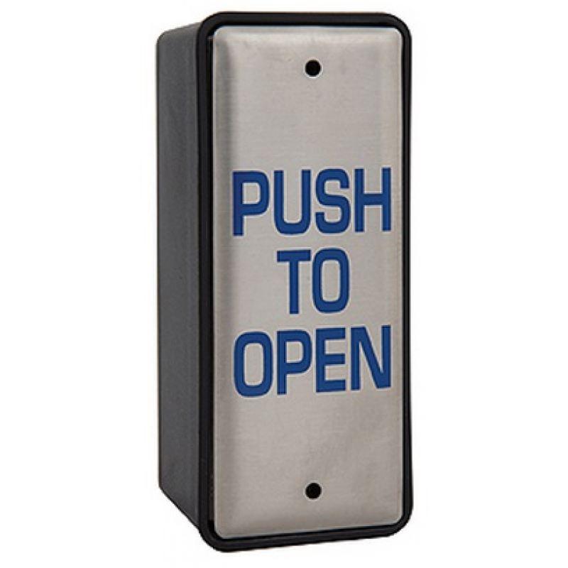 Sap 2004a Larco Narrow Button Push To Open Amp Surface Box