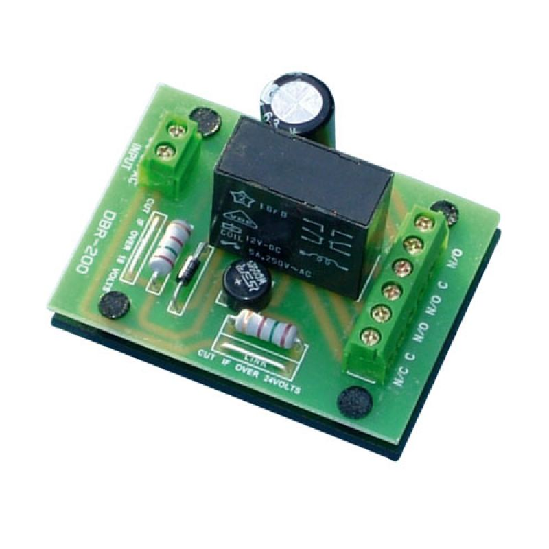RL02 12/24v dc/ac VHLR Handy Relay Double Pole