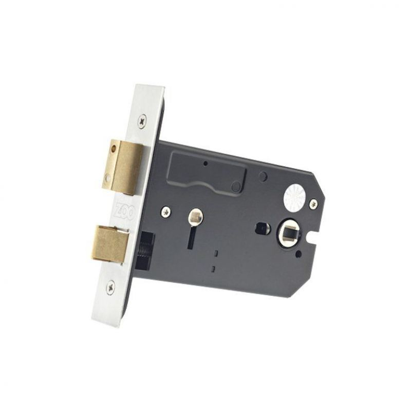 zukhb127ss horizontal bathroom lock 127mm satin stainless